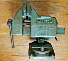 Vintage Wilton No 121079 Tilting 4bench Vise With Swivel Base Rare