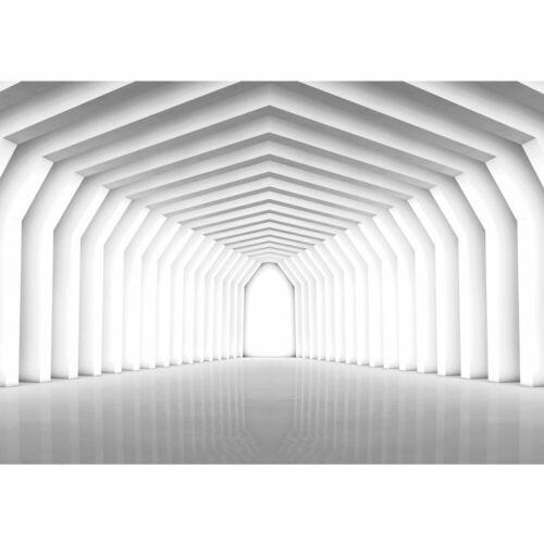 1504 Fototapete Tunnel Spiegelung Bogen Weg Säulen 3D Optik liwwing no