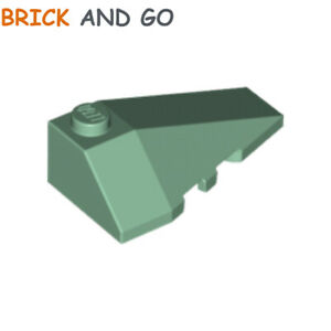 Yellow 4 X LEGO 30363 Brick Gradient Roof Roof Brick 2x4 Slope 18° new New