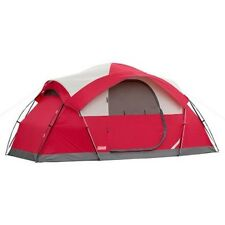 factory authentic 12a1e 2cfb1 8 Person Instant Tent Coleman Canvas 2 Room Tent Waterproof ...