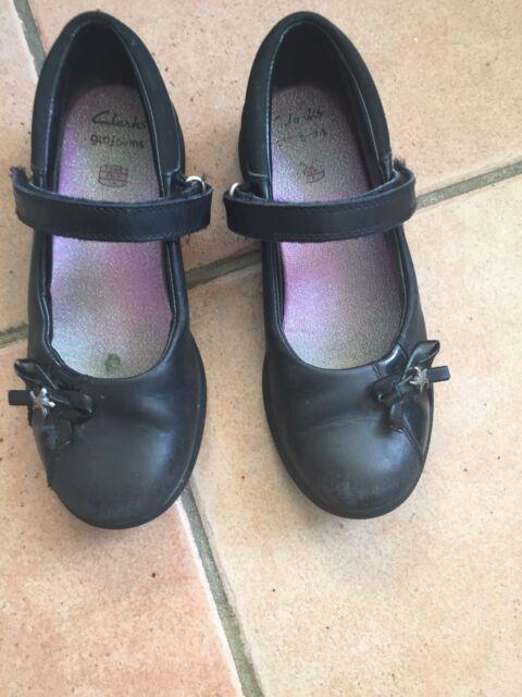 Clarks gloforms Girls School Shoes Size