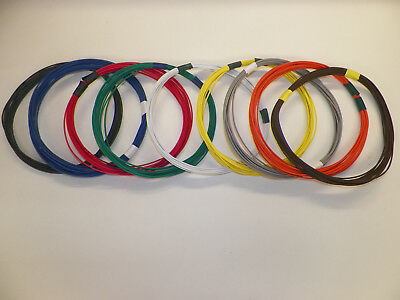 12 GXL 6 SOLID COLORS 25 FEET EACH 150 FEET TOTAL HIGH TEMP AUTOMOTIVE WIRE
