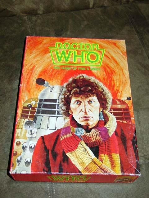 Games Workshop 1980 - DOCTOR WHO - The Game of Time and Space  (UNPUNCHED Rare)