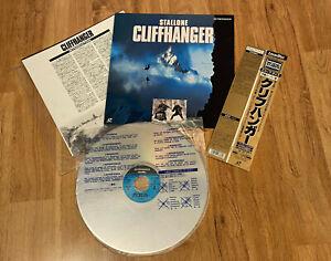Cliffhanger-1993-Stallone-PILF-1852-JAPAN-Ver-LaserDisc-LD
