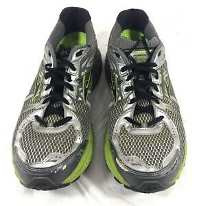 Brooks Running Shoes Gray Green GTS 12
