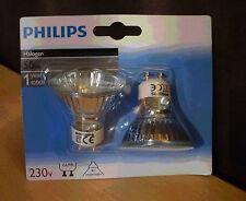 2 Halogeen spots lampen van Philips 50W GU10 NIEUW