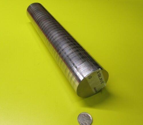 "x 1 Foot Length O1 Oil Hardening Tool Steel Rod 2 1//4/"" Dia. +.051/"""