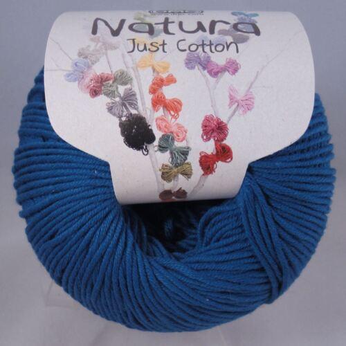N27 DMC Natura Just Cotton Crochet Knitting Yarn Star Light 50g