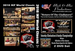 2018-IKF-World-Classic-Muay-Thai-Kickboxing-Tournament-Highlights-2-DVD-set