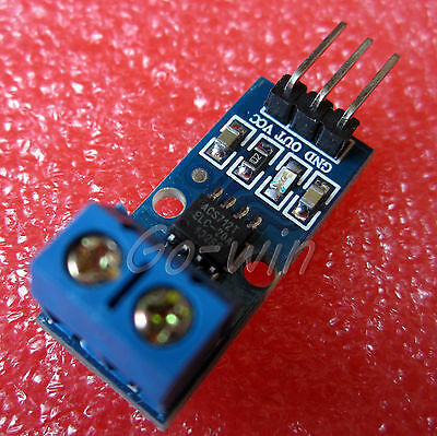 1pcs new 20A range Current Sensor Module ACS712 Module