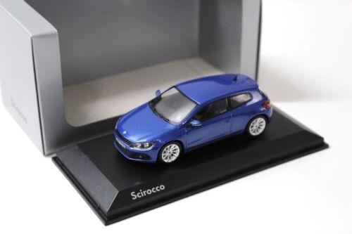 1:43 norev VW Scirocco 3 Blue 2008 traficantes New en Premium-modelcars
