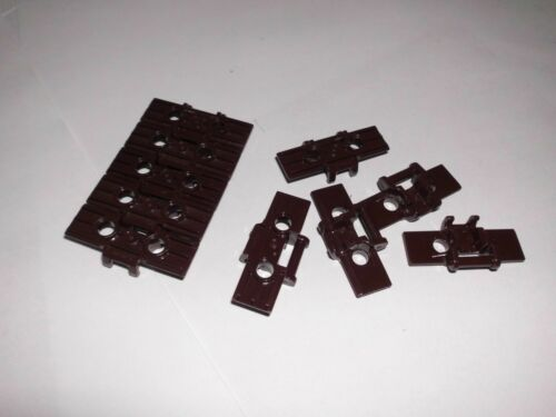 LEGO Bausteine & Bauzubehör Lego Kettenglieder 10stk.dunkelbraun  ca 3,8x1,8cm,gebraucht