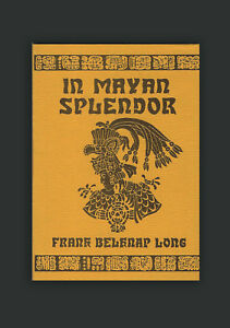 In-Mayan-Splendor-Poems-Frank-Belknap-Long-Stephen-Fabian-Arkham-House-Poems-1st