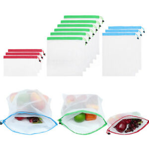 1pcs-Reusable-Produce-Bag-String-Mesh-Fruit-Vegetable-Grocery-Storage-Net-Bags