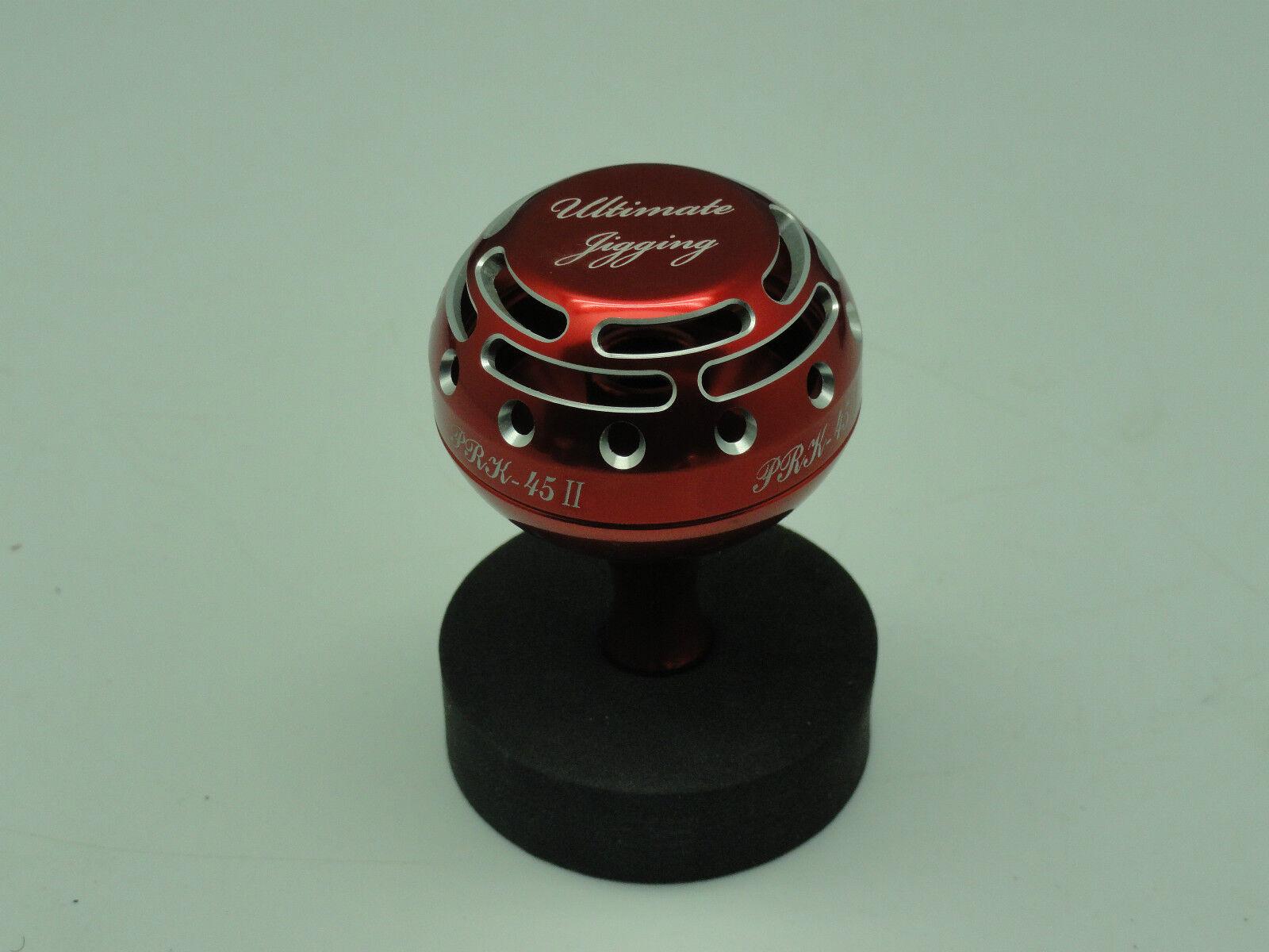 U.J. PRK 45 II knob for shimano Kaikon Kaikon Kaikon 夢屋 Daiwa SEABORG TANACOM BULL reel rosso/SV be7ddf