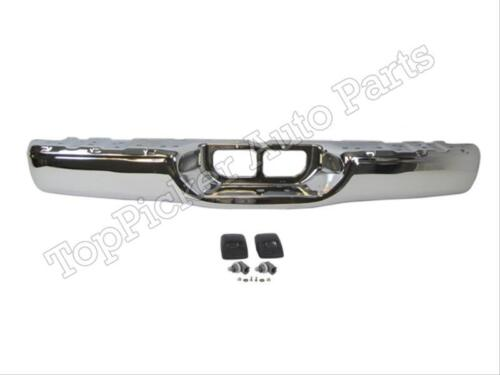 FOR TOYOTA 00-06 TUNDRA STANDARD BED REAR BUMPER FACE BAR CHR LICENSE LIGHT SET