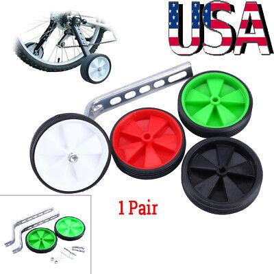 "1 Pair Children/'s Kids Bicycle Bike Cycle Universal Training Wheels for 12-20/"""