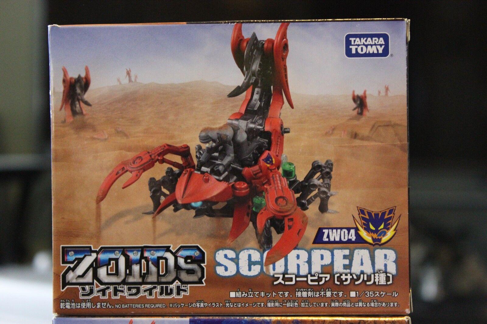ZOIDS Zoids Wild ZW04 Sukopia