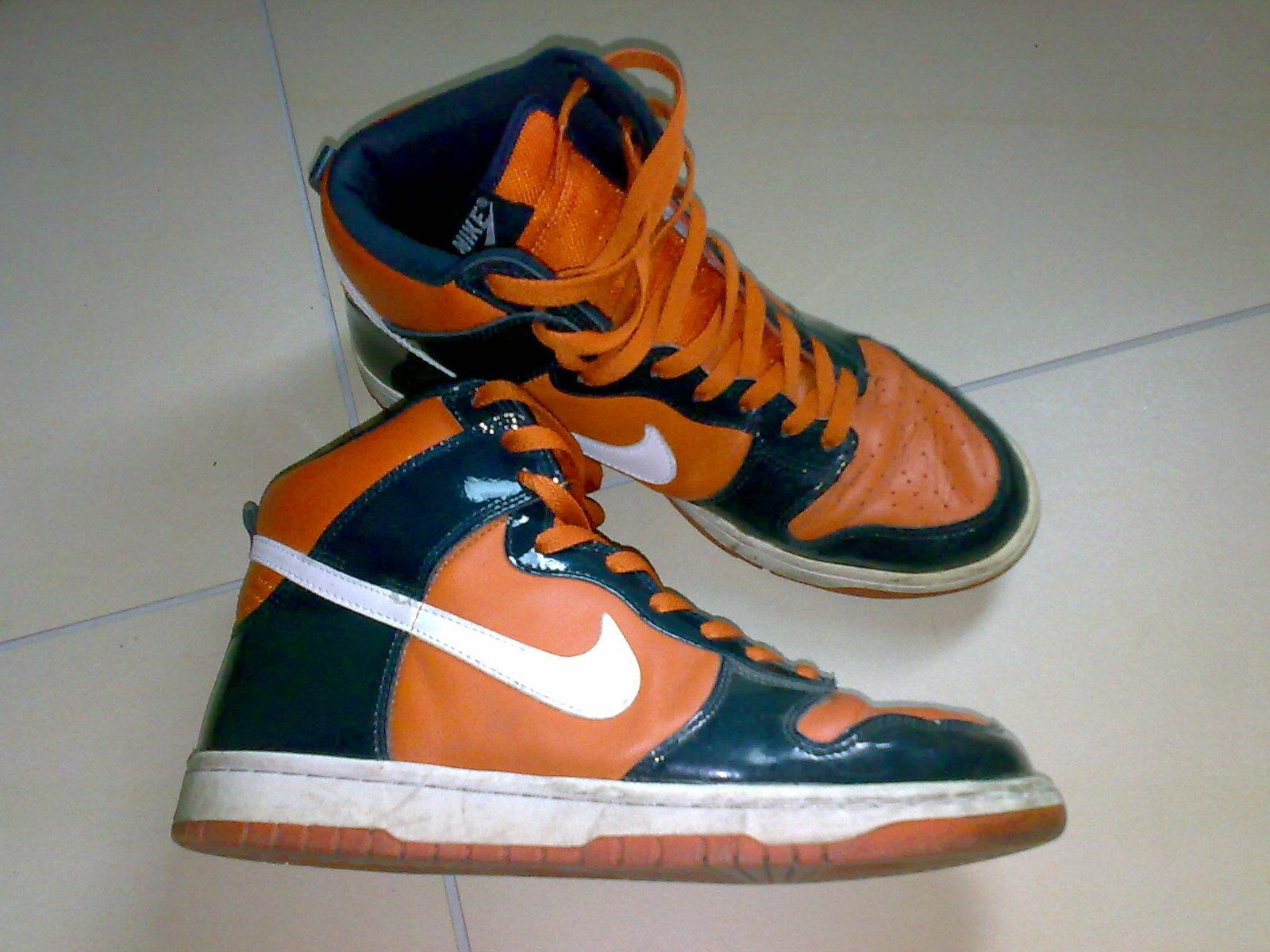 Nike Air Dunk High Gr. 44 BLAU- Orange Orange Orange SYRACRUSE 0793e7
