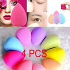 4 PCS Makeup Foundation Sponge Blender Blending Puff Flawless Powder Smooth