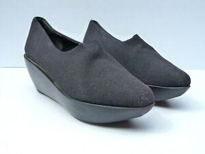 Black Platform Shoes Heels 8