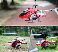 Red Avatar Z008 4ch 2.4g Alloy Mini Remote Control Rc Helicopter Gyro Genuine