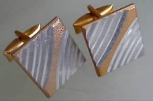 Vintage-ruso-gemelos-de-color-oro-y-plata