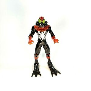 "Spider-Man Sea Web Splashers (Toy Biz 1996) 5"" Tall Loose Action Figure HTF RARE"