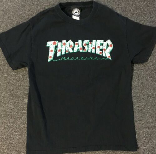 Thrasher Roses Shirt S Anti Hero Krooked Real Skat