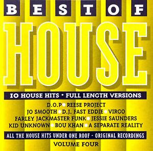 Compilation-CD-Best-Of-House-Volume-Four-UK-M-VG