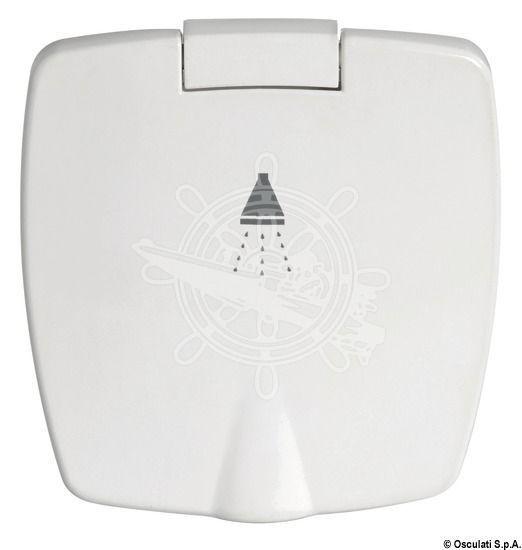 Osculati Dusche Desy verch Schlauch 4m Duschenanschluss hinten