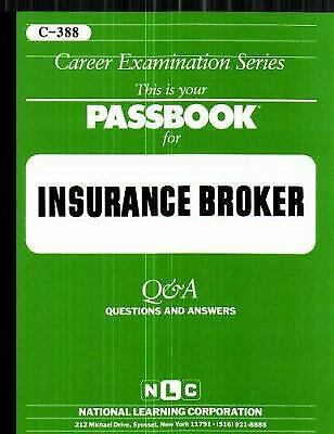 Insurance Broker : Test Preparation Study Guide Questions and Answers-ExLibrary