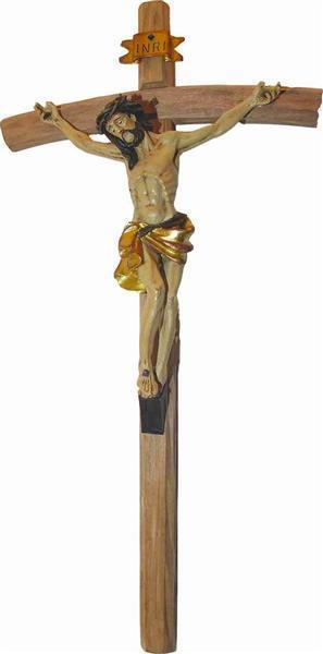 Kreuz Holzkreuz Wandkreuz Christus am Kreuz Jesus am Kreuz | Neuer Stil