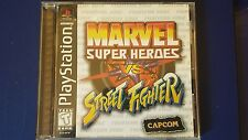 Marvel Super Heroes vs. Street Fighter Sony PlayStation 1 Complete PS1