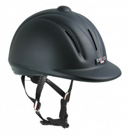 Casco Youngster schwarz  matt  Reithelm Neues Model 2015 nach VG1.04
