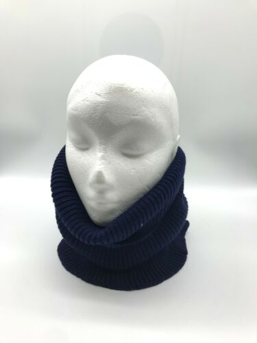 Thermal Knit Neck Warmer /& Face Warmer Snood Winter Cream Black White Pink Blue