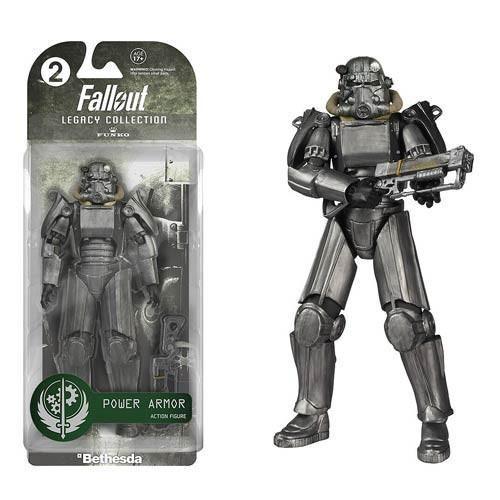 Funko Legacy Power Armor 2  - 15 cm Figure - Fallout - Rara Vaulted
