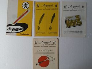 ARGUMENT-50-039-s-BROCHURES-CATALOGS-PRICE-LIST