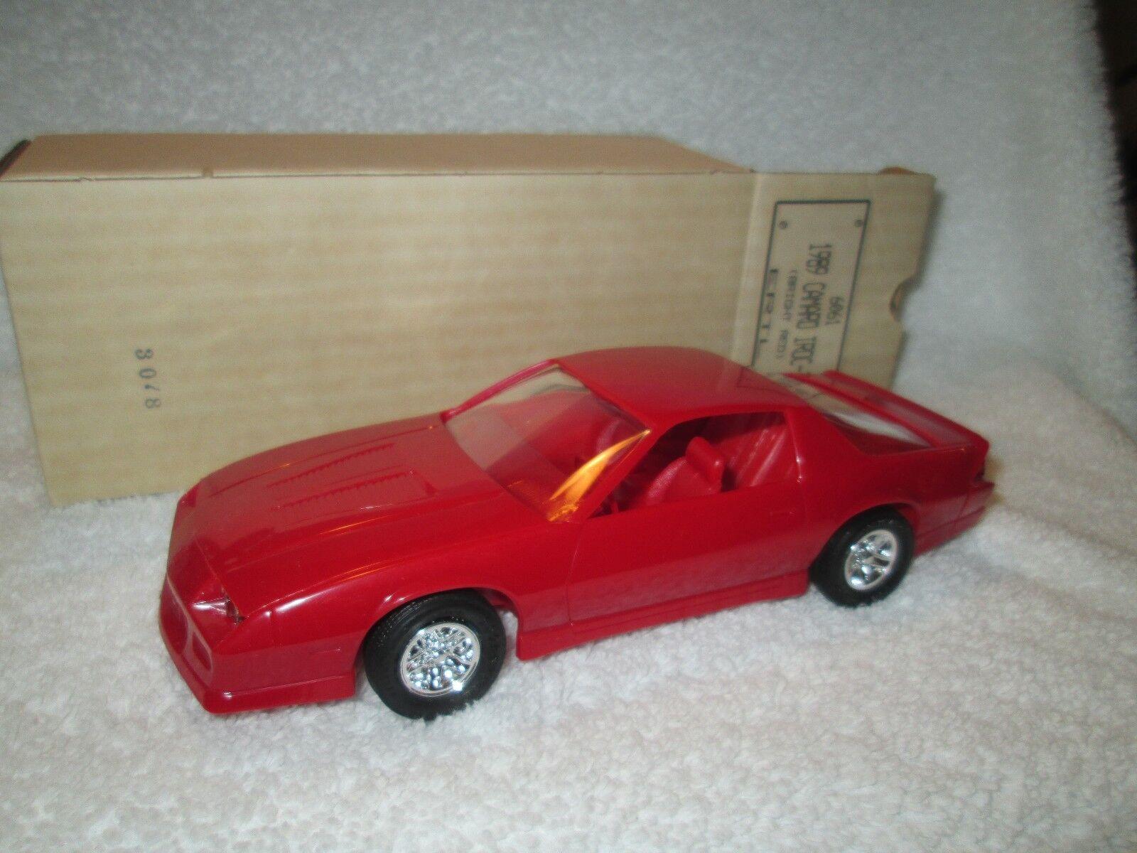 1989 Chevrolet camaro RED IROC Z 90 Dealer Promo LOOSE DISPLAY PIECE