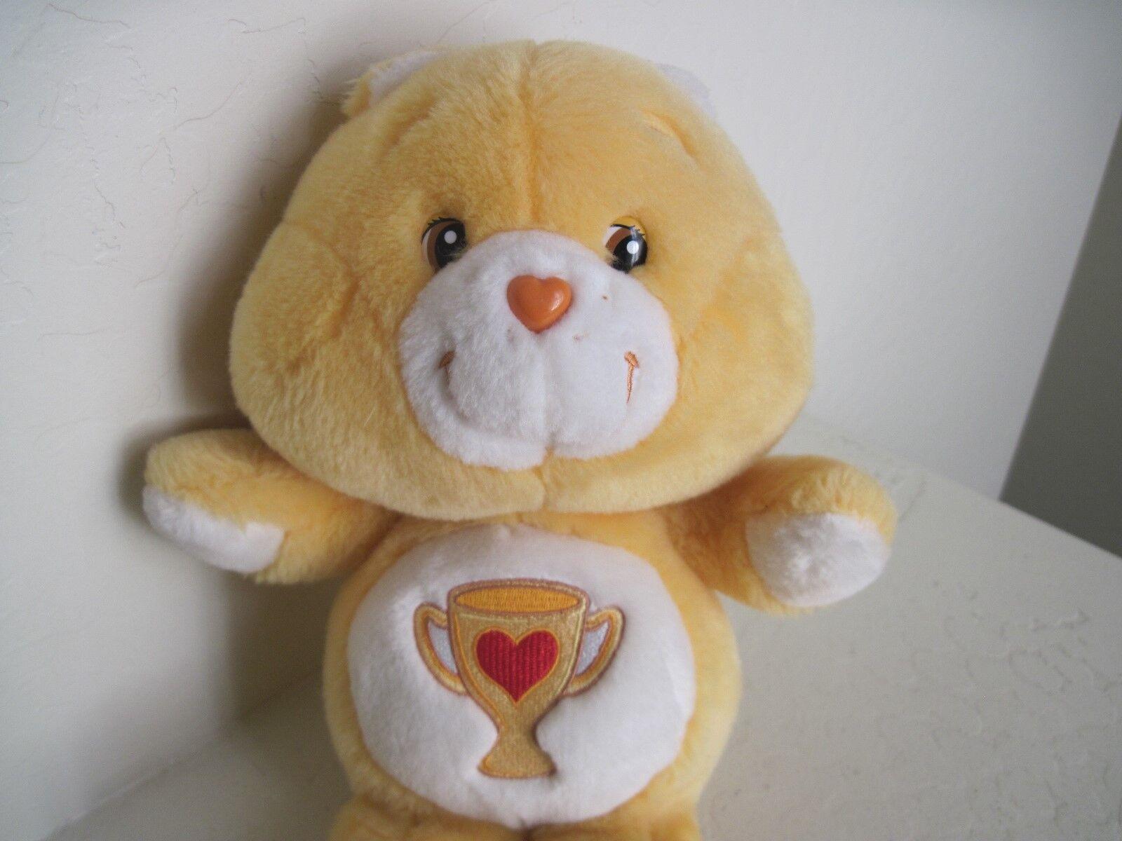 Care Bears Bears Bears CHAMP BEAR 13  Plush Stuffed Animal arancia 30b593