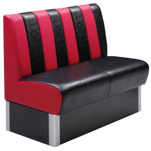 gastronomie sitzbank amerikan dinerbank auch gastro gewerbe stuhlen und tische ebay. Black Bedroom Furniture Sets. Home Design Ideas