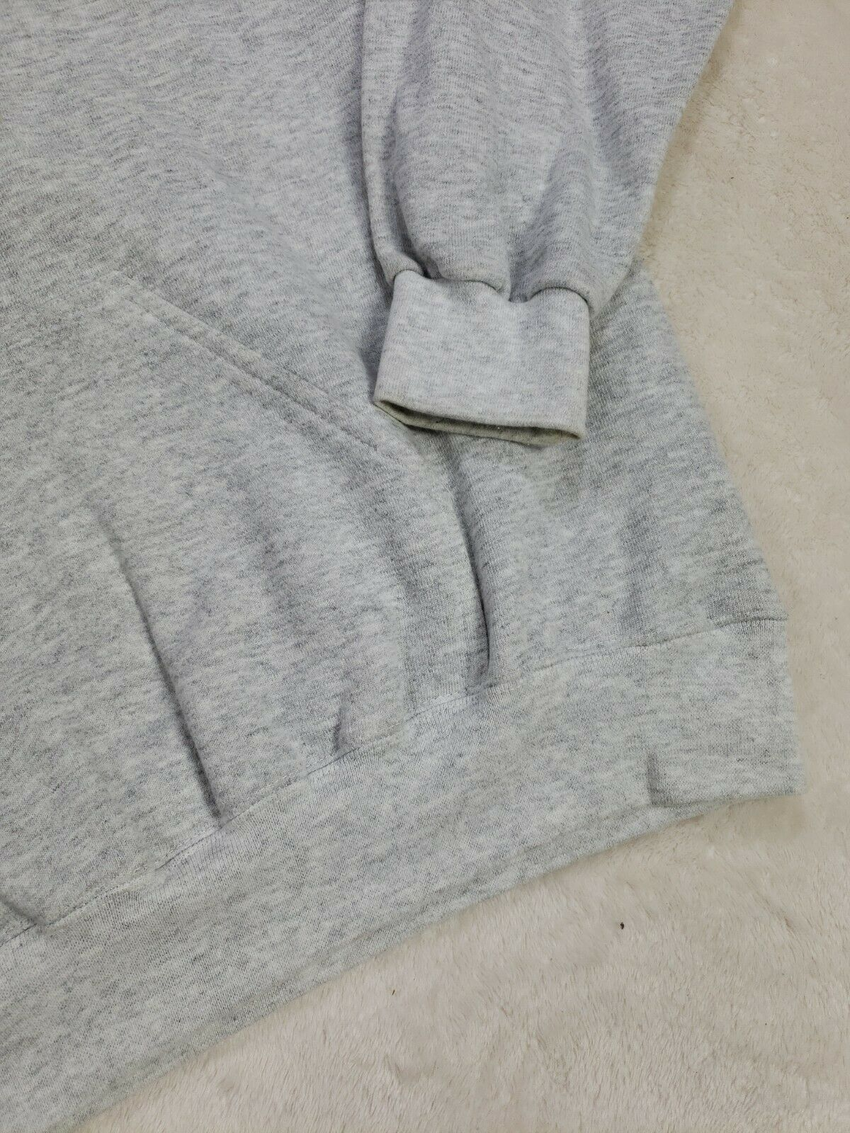 Levis Vintage Mens Gray Hoodie Size L Made in USA… - image 5