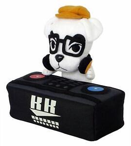 "Little Buddy Animal Crossing New Leaf DJ K.K. Slider 8"" Stuffed Plush USA Seller"