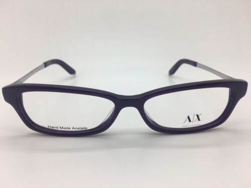 4f53baa4a35 ... Armani Exchange Ax 239 Ay2 Purple Metal Womans Frame Eyeglasses  52-14-135 New
