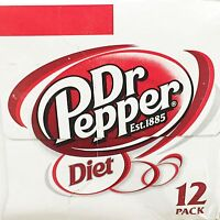 Dr Pepper Diet Soda 12 Pack