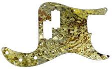 P Bass Precision Pickguard Fender 13 Hole Guitar Scratch Plate Abstract 14