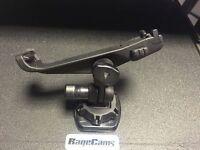Garmin Virb Elite Saddle Action Camera Mount W/adhesive Concave Curved Base