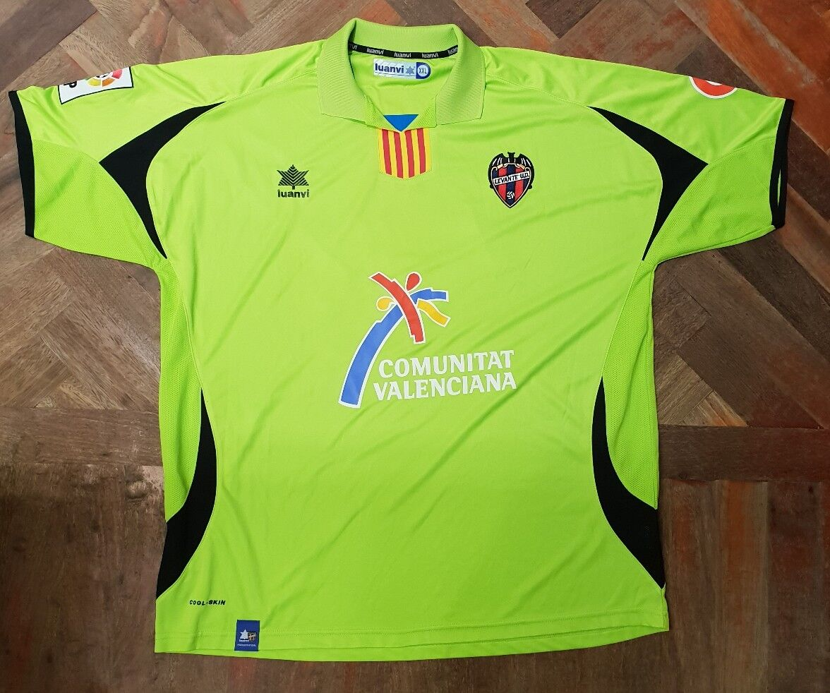 Maglia shirt Levante usd Match worn Geijo La Liga