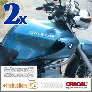 2x-R1150-R-White-BMW-Serbatoio-ADESIVI-PEGATINA-R-1150-R-AUTOCOLLANT-AUFKLEBER