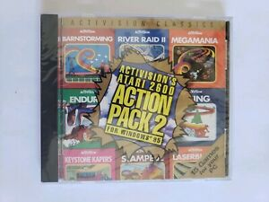 VINTAGE-NEW-Sealed-Activision-039-s-Atari-2600-Action-Pack-2-PC-1995-15-Games